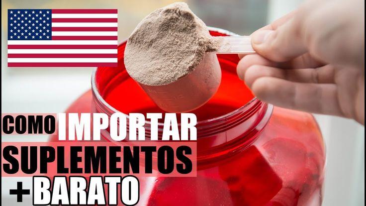 como importar suplementos baratos dos Estados Unidos (EUA)