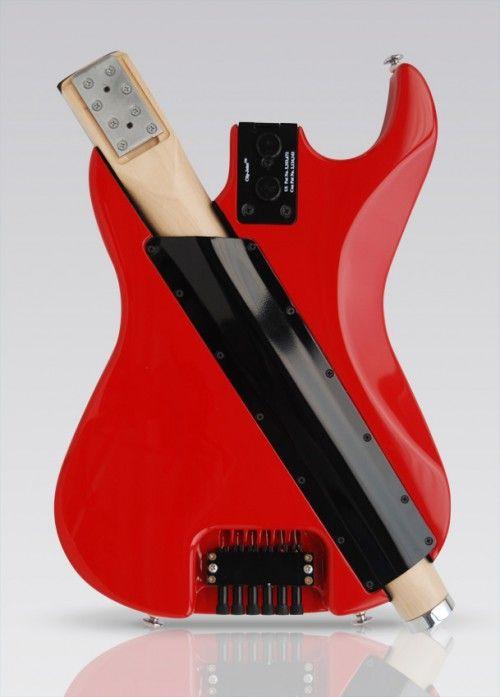 Stewart Guitars removable neck travel guitar