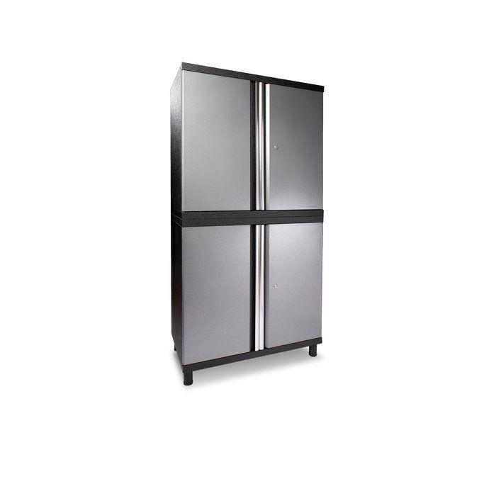 Dura Duracabinet Pro Series Iii 8 Piece Wayfair Storage Cabinet Shelves Garage Storage Cabinets Storage Cabinets