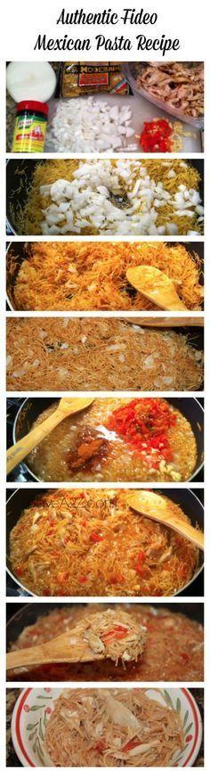 Authentic Fideo Mexican Pasta Recipe