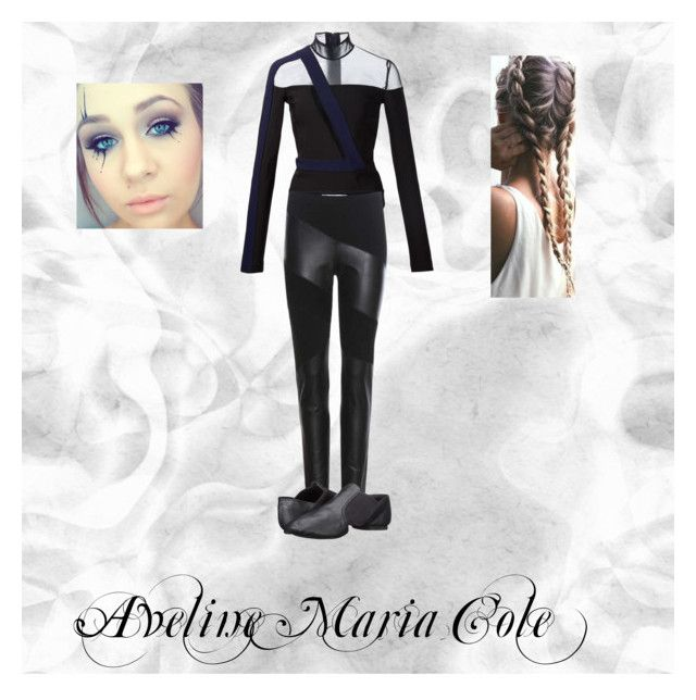 """""""Aveline Maria Cole"""" by cheshire-kitten ❤ liked on Polyvore featuring Thierry Mugler, Diane Von Furstenberg, Capezio and Quotev"""