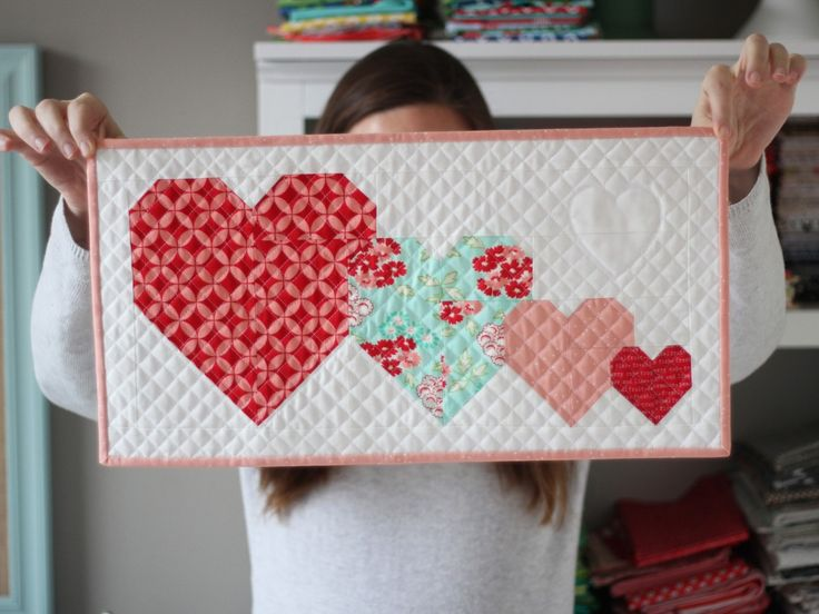 123 Best Valentine Quilt Ideas And Free Stuff Images On Pinterest