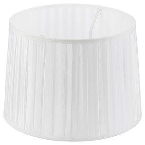 Modern Living Pleated Lamp Shade - White