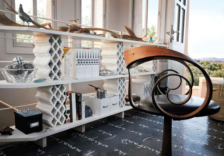 les 34 meilleures images propos de parpaing sur pinterest moderne milieu de si cle motifs. Black Bedroom Furniture Sets. Home Design Ideas