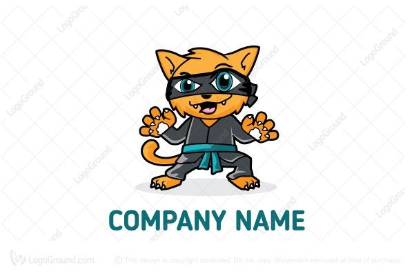 Logo for sale: Ninjacat Logo