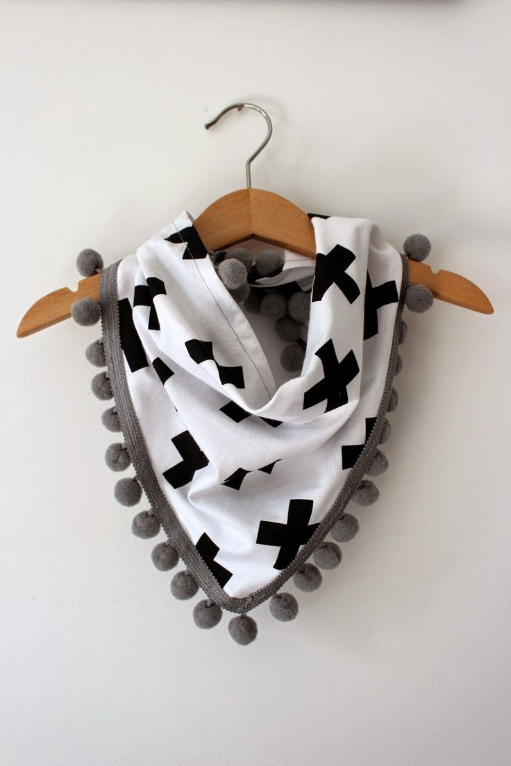 DIY baby scarf!