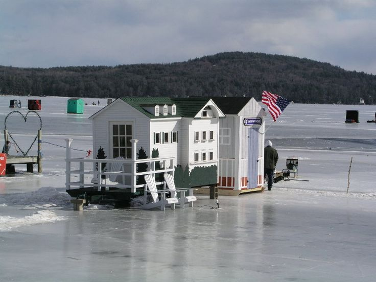 Free ice fishing house plans for Clam fish houses