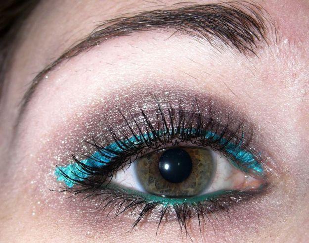 Красочный макияж для серых глаз ::: onelady.ru ::: #makeup #eyes #eyemakeup