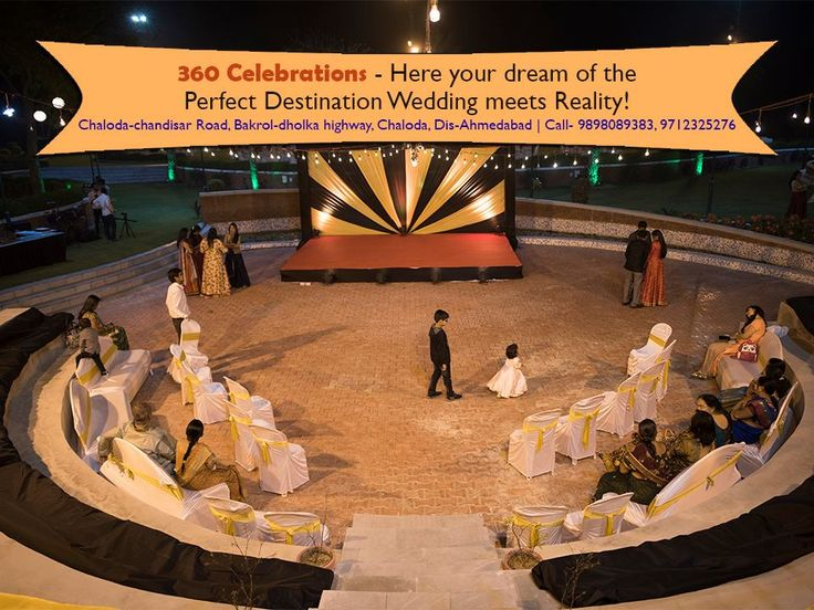 360 Celebrations- Dreams of Perfect Weddings turn real here! Address- Chaloda-chandisar Road, Bakrol-dholka highway, Chaloda. Ta: Dholka District- Ahmedabad Contact- 9898089383, 9712325276 #Place #TravelPlace #Tourism #Venue #PerfectDestination #Weddings #Engagements #ceremonies #BirthdayParties #OneDayPicnic #JungleSafari #JeepSafari #CamelRide #HorseRiding #360Celebrations #Dholka #CityShorAhmedabad