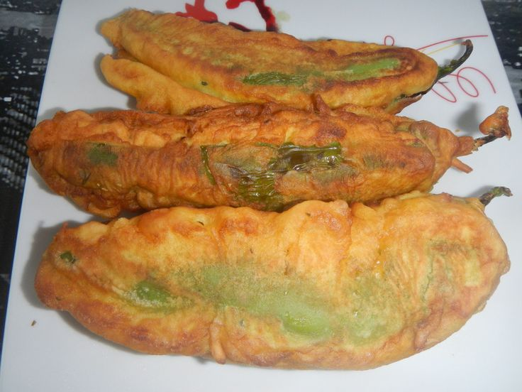 Les piments farcis font partis des beignets traditionnels réunionnais !