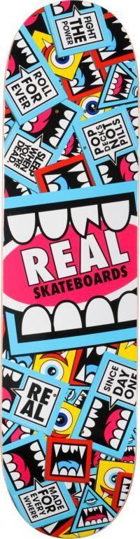 REAL SKATEBOARDS  Real Greg Mike Sticker 8.06 R1 Construction Skateboard Deck  $49.95