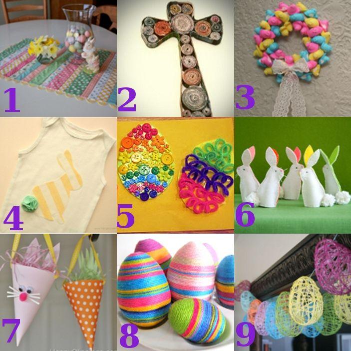 9 Easter #crafts