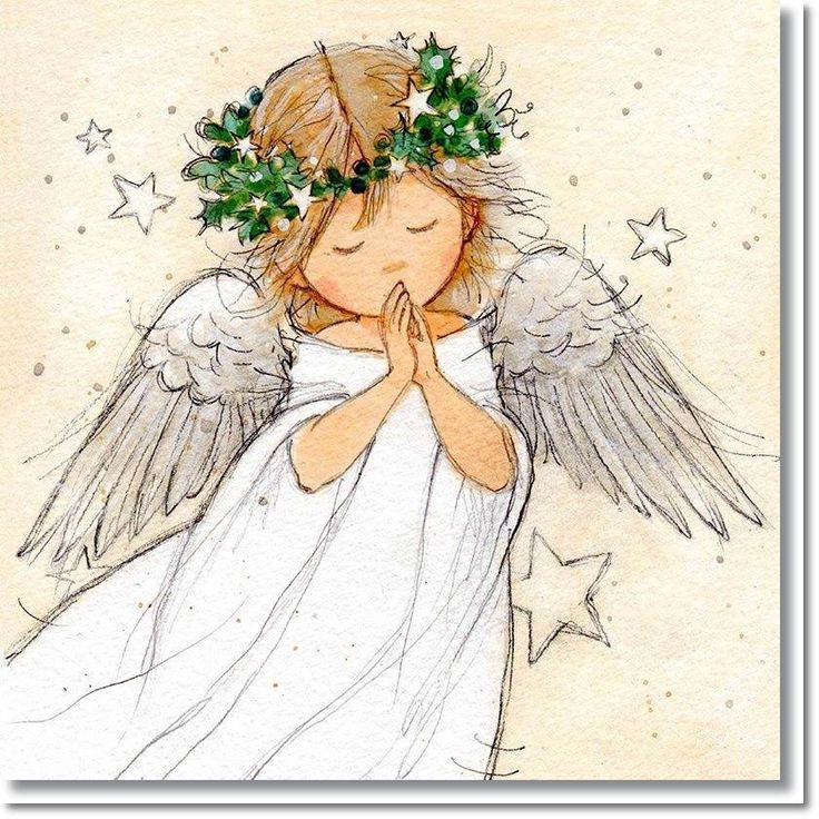 1879 best Angelitos images on Pinterest | Christmas angels, Angel ...