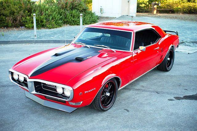 1968 Pontiac Firebird Pro-Touring Custom. Awesome American Muscle!