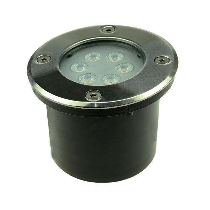 Mit dem LED-Bodeneinbaustrahler leuchten Sie Ihren Außenbereich effektvoll und sicher aus