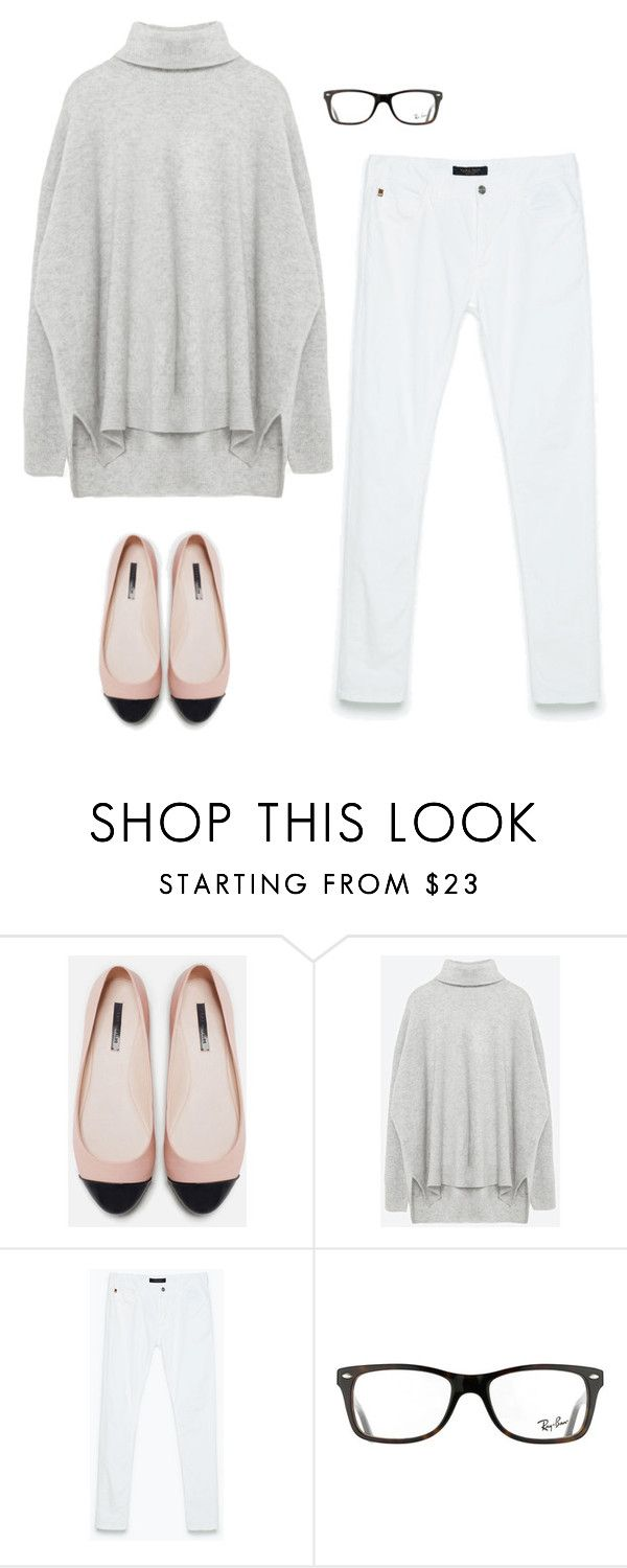 """""""Styling Mrs Oliver Weekend"""" by stylingmrsoliver on Polyvore featuring Zara and Ray-Ban"""