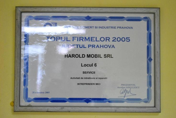 Premiu Harold Mobil #Ploiesti