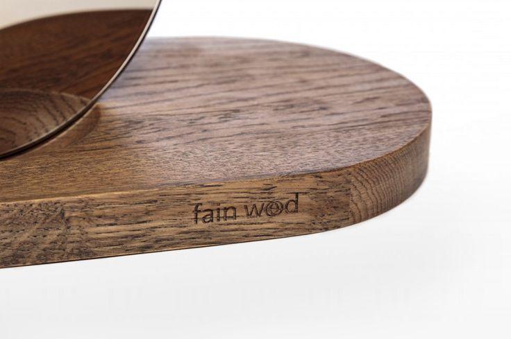 Jewelry stand Monolith / design: Lenka Damová & Boris Klimek / www.fain-wood.cz