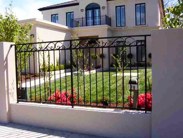 Best Ogrodzenia Images On Pinterest Fencing Metal Fences And