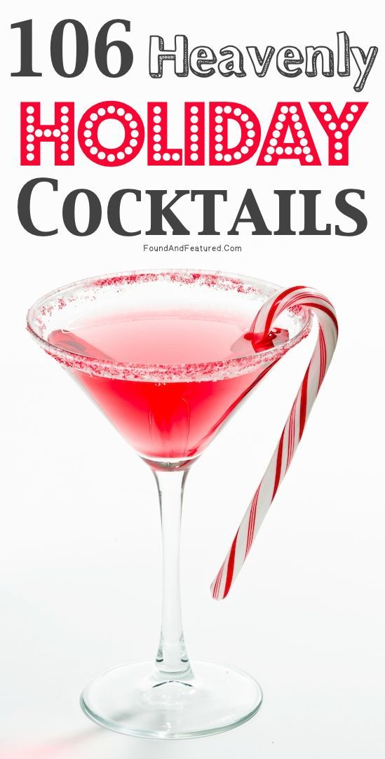 A ton of unique and festive drink recipes!