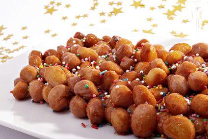 Cicerchiata: a carnival recipe. Really sweet and tasty ;) #recipe #marche #italy #food