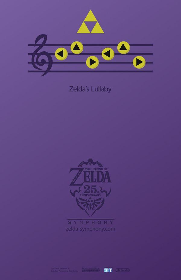 Legend of Zelda Symphony Event Posters by Brendan Goggins, via Behance