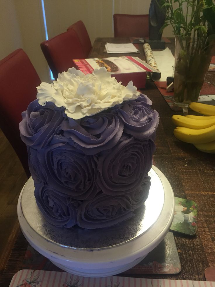 Cake I made for my sister's 40th