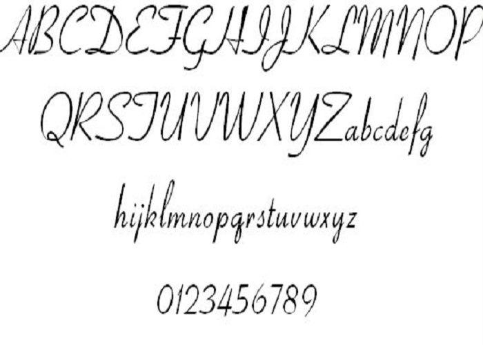 17 Best ideas about Tattoo Fonts Cursive on Pinterest | Tattoo ...