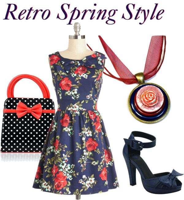 Retro Spring Fashion Style