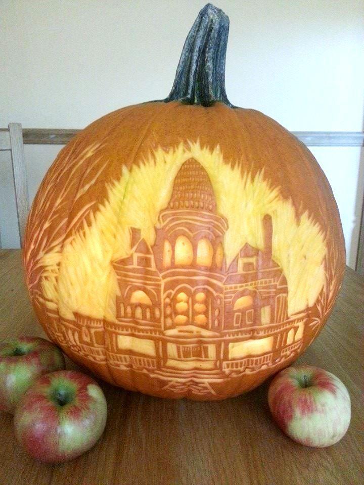 544 best creative pumpkins images on pinterest halloween pumpkins halloween ideas and halloween crafts - Creative Halloween Pumpkin Carving Ideas