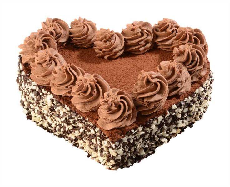 Dortové srdce Amadeus Nízký lehký čokoládový piškot nese originální lahodný lanýžový krém z mascarpone s nádechem kávy, medu a skořice.Ozdoben kakaem a čokoládovými šupinkami. Pro čokoládově závislé!