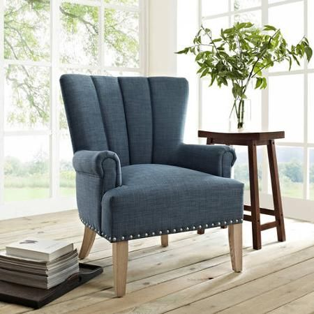 Better Homes and Gardens Accent Chair, Multiple Colors - Walmart.com