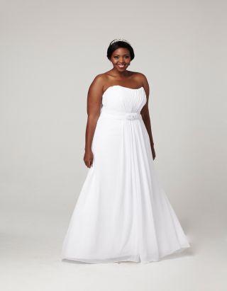 25 best images about wedding dresses fuller figures on for Wedding dresses for fuller figures