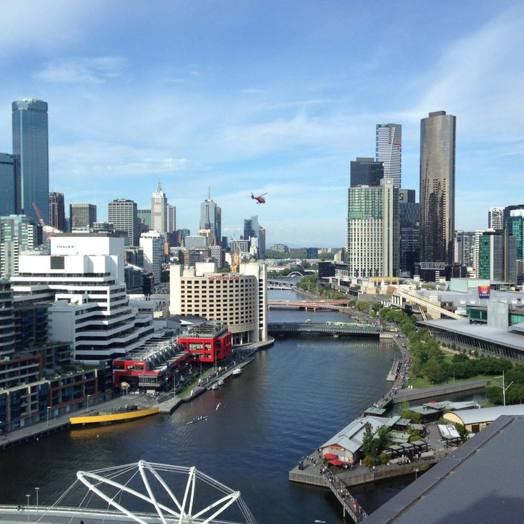 City View Room at the Hilton South Wharf Hotel in Melbourne, Australia