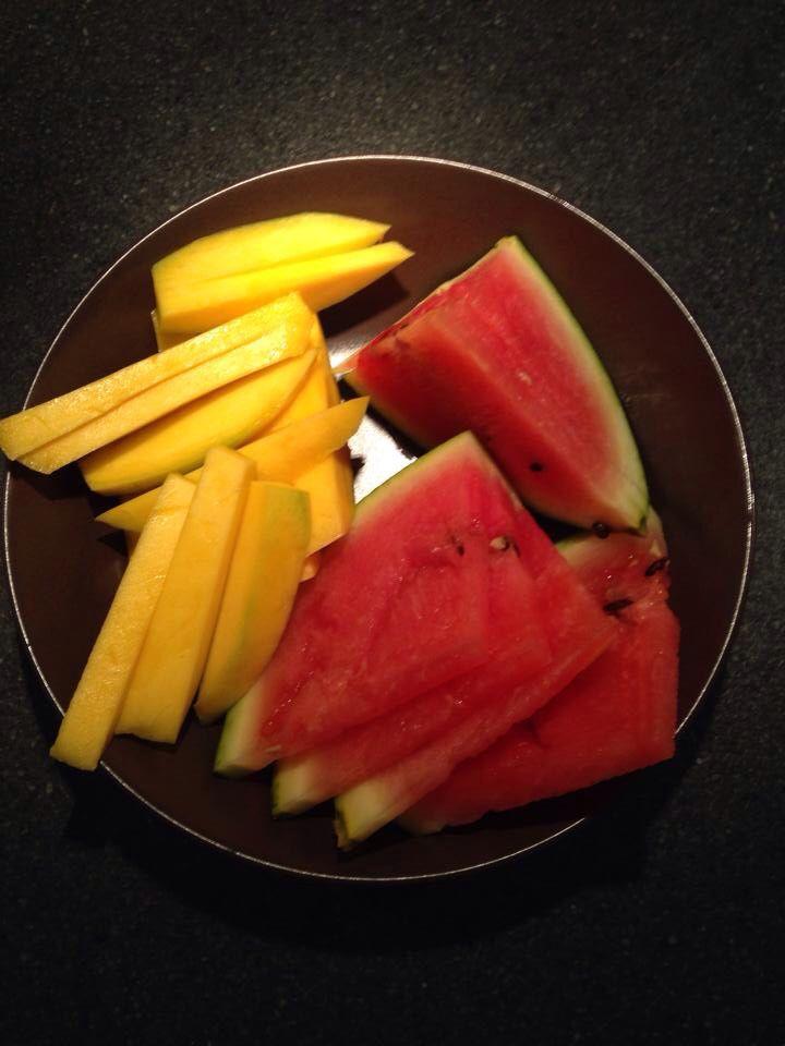 Watermelon & Mango