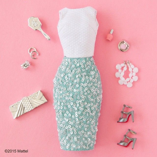 A little sparkle goes a long way! ✨ #barbie #barbiestyle
