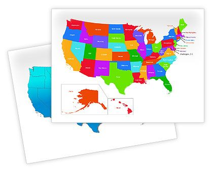 The USA PowerPoint Map http://www.poweredtemplate.com/powerpoint-maps/usa-powerpoint-maps/00012/0/index.html