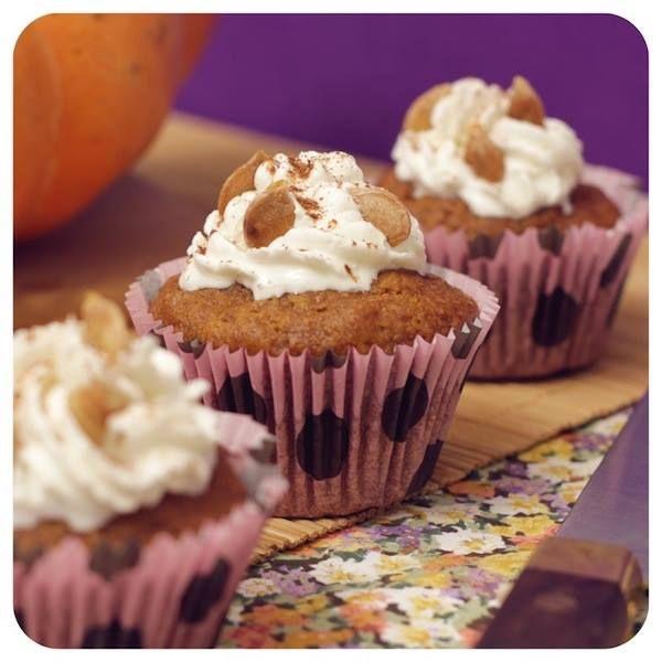 Receita de Halloween – Massa de cupcake de Abóbora