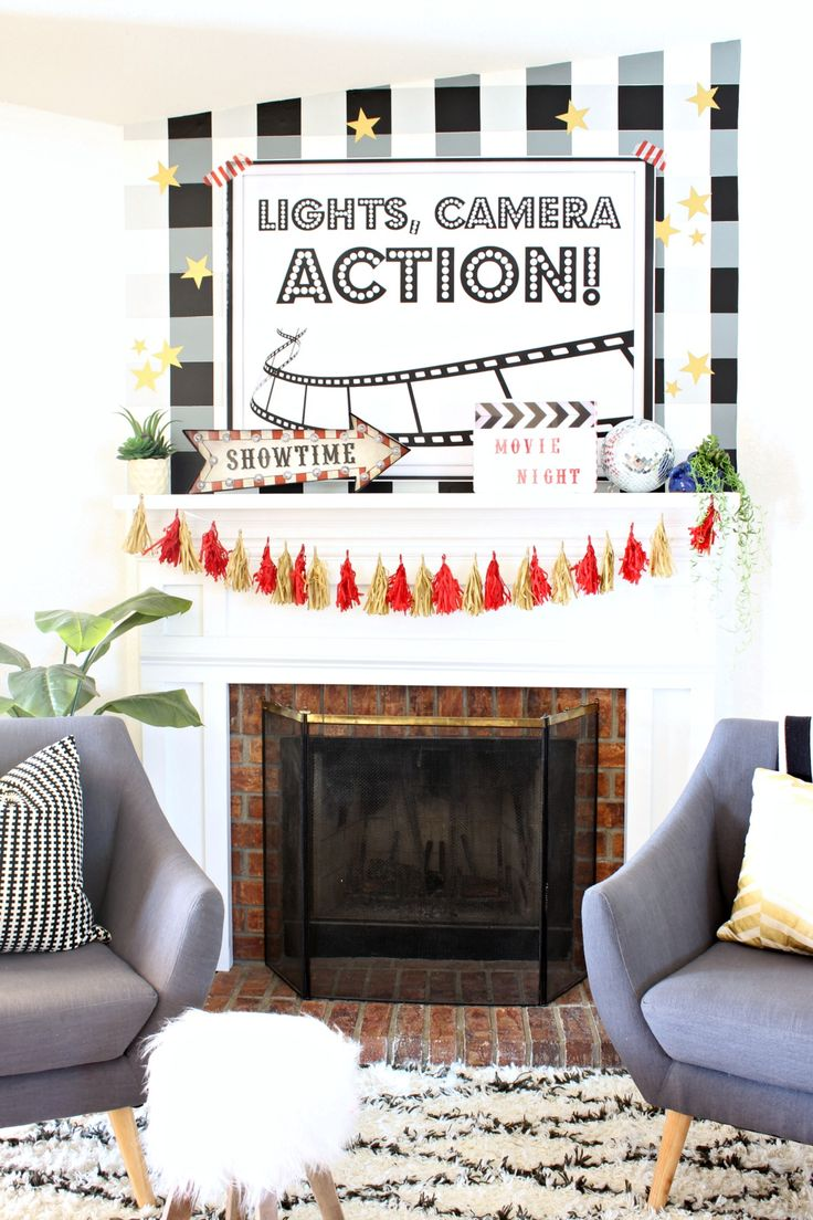 50 best Movie Night Party images on Pinterest | Movie night party ...