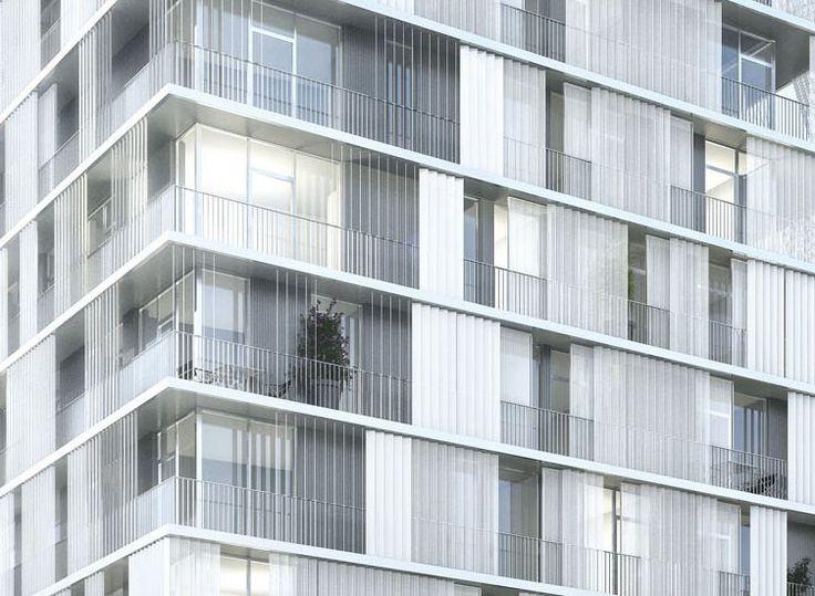 Galería de Propuesta Ganadora para Colegio y Residencia Estudiantil / Chartier Dalix Architectes - 6