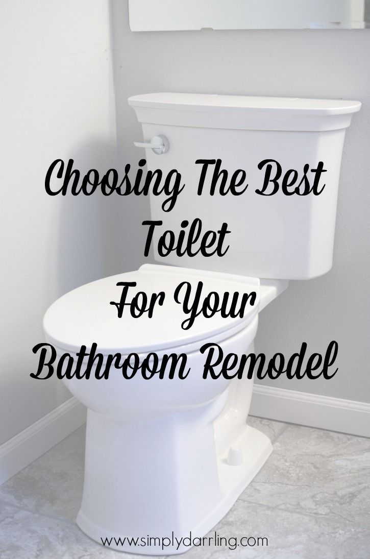 Thinking of updating your bathroom? Make sure a new toilet is on the list and check out these tips for choosing the best toilet for you.