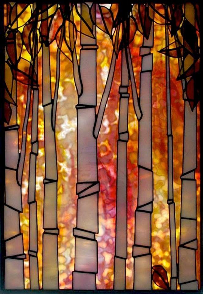 """""""Basking Birches"""" by by Teresa Seaton, Burlington, Ontario"""
