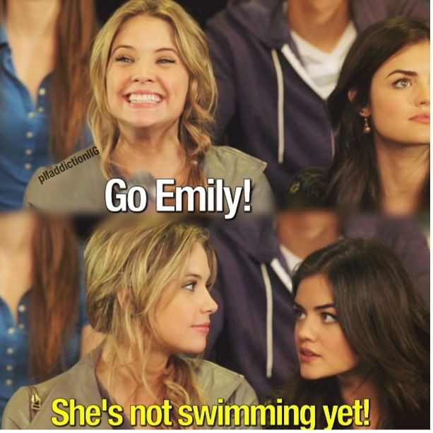 hahaha you've got to love Hanna Marin with her always hilarious quotes. #pll…