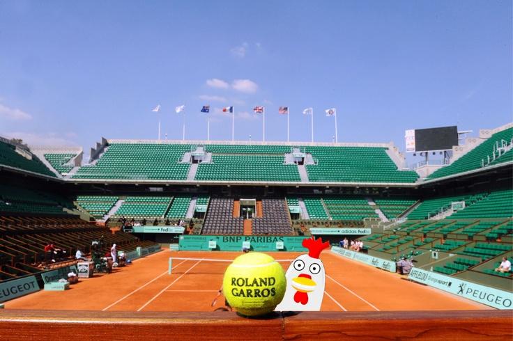 Freegli at Roland Garros