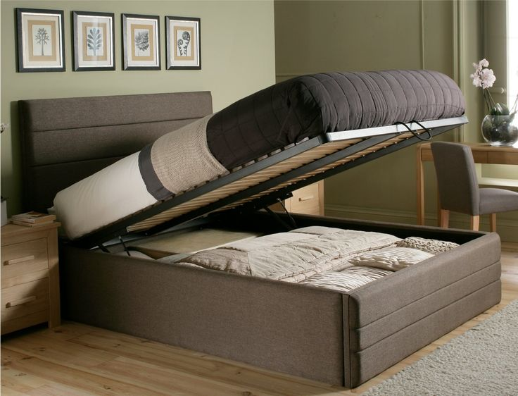 Ottoman Storage Bed With Drawers