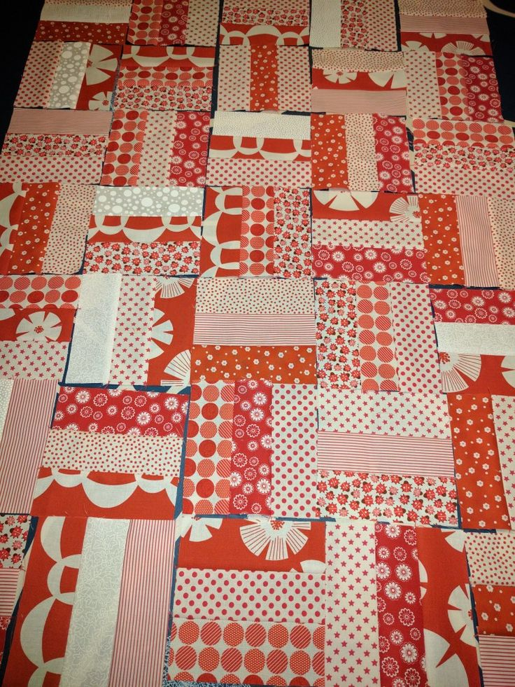 WIP (Work in progres). Baby quilt