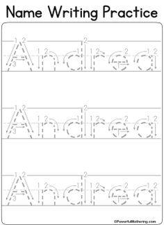 custom name tracing worksheets raising my babies pinterest name tracing worksheets names. Black Bedroom Furniture Sets. Home Design Ideas