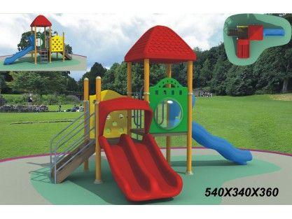Playground is a better choice #Plastic #Playground #Equipment