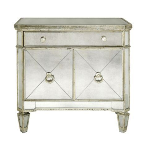 These Are My Night Stands In My Master Bedroom Borghese Mirrored Side Chest From Z Gallerie