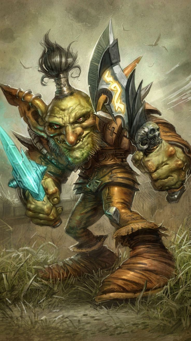 Download Orc World Of Warcraft Game Iphone Hd